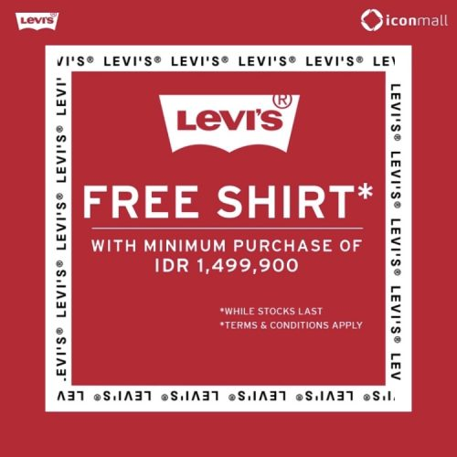 Free T-shir by Levi's
